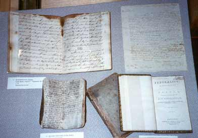 Washington's Journal, Revolutionary War Diary, Letter to Henry Knox and Federalist Papers