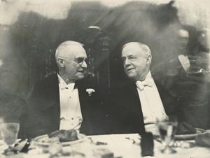 George Eastman and Rush Rhees