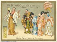 Kroll's Theatre Program for the Mikado
