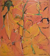 Untitled painting, Herbert Gentry