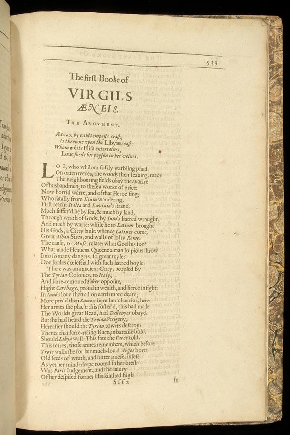 First Book, Aeneid