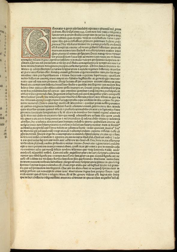 page 1 recto