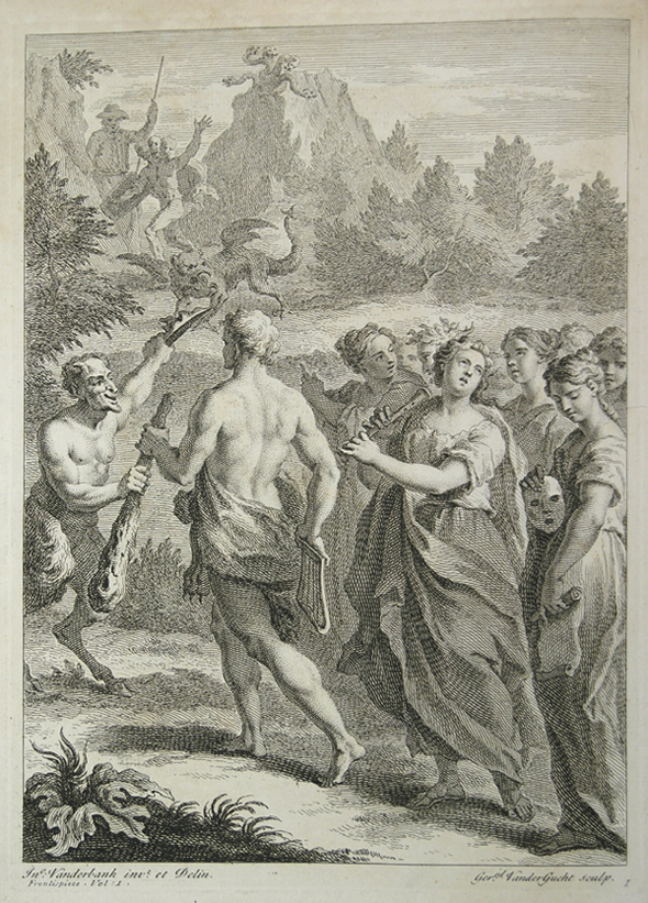 Allegorical engraving from Don Quixote