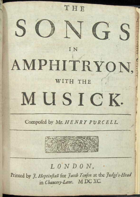 Title page, Songs