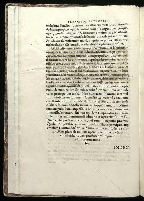 copernicus preface