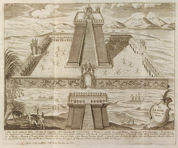 El Grande Templo de Mexico