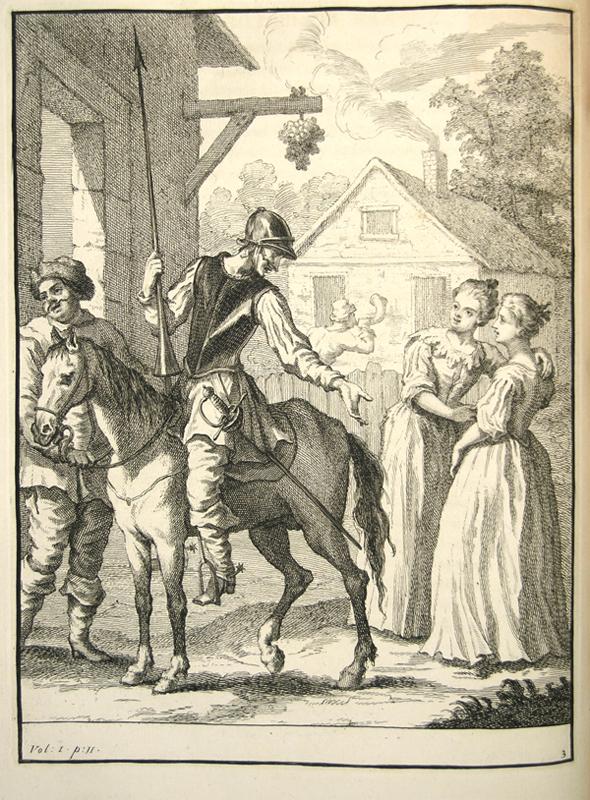 William Hogarth's Illustrations, plates 3 and 4 of volume 1