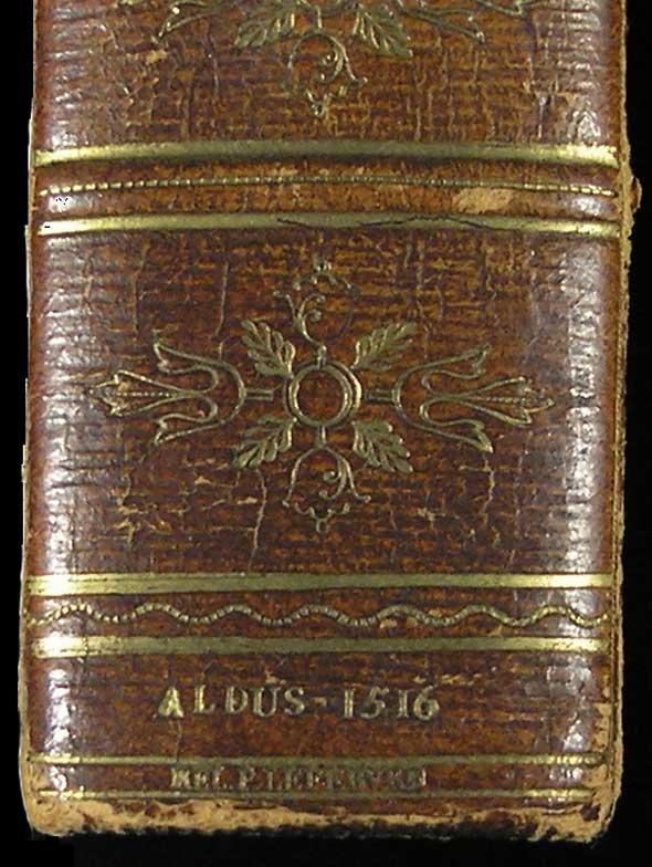 Suetonius spine detail