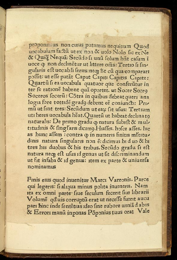 whole page with colophon