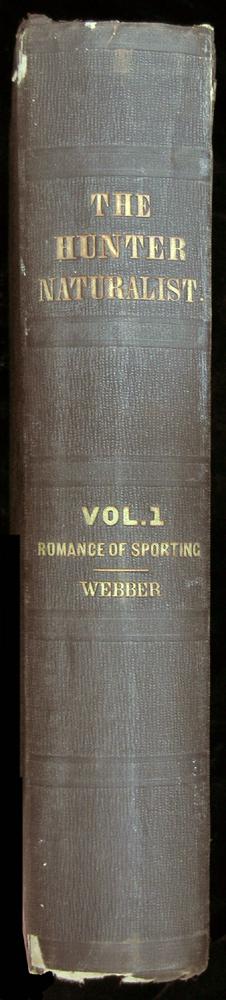 Spine of Webber's the Hunter-Naturalist