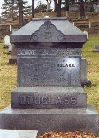 Frederick Douglass' headstone