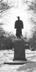 President Anderson Statue