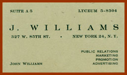 scanned business card