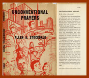 scanned bookjacket for unconventional prayers