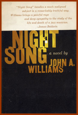 scanned bookjacket for night song
