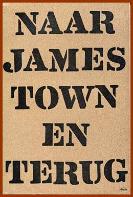 scanned bookjacket for naar james town in terug