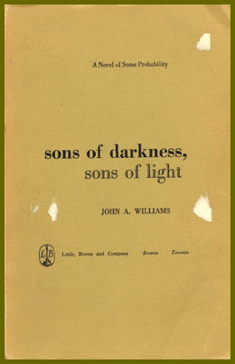 scanned bookjacket for sons of darkness sons of light
