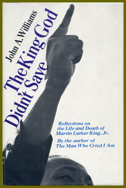 scanned bookjacket for the king god didn't save