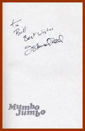 scanned title page, signed, for mumbo jumbo