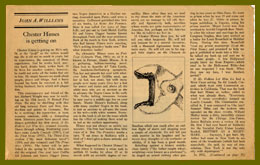 scanned newspaper article