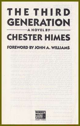 scanned title page for the third generation