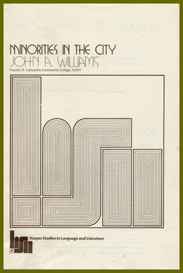 scanned bookjacket for minorities in the city