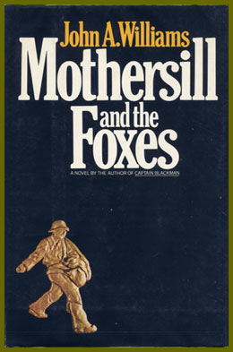 scanned bookjacket for mothersill and the foxes