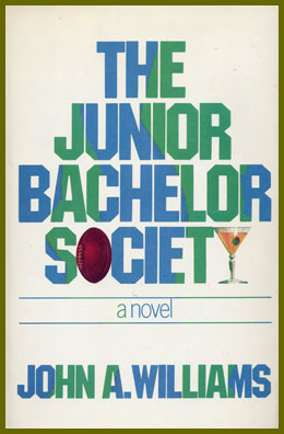 scanned bookjacket for the junior bachelor society