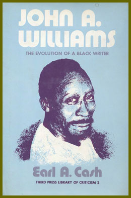 scanned bookjacket for john a. williams: the evolution of a black writer