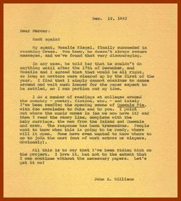 scanned letter