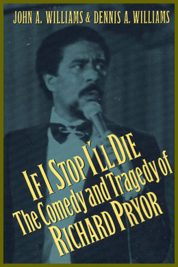 scanned book jacket for if i stop i'll die: the comedy and tragedy of richard pryor