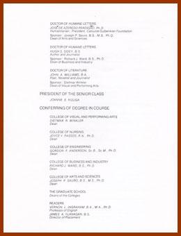 scanned  program