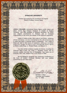 scanned certificate