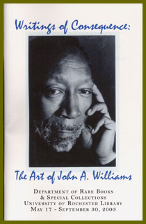 Writings of Consequence: The Art of John A. Williams